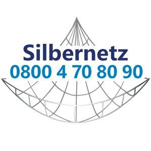 Logo Silbernetz - Gemeinsam gegen Einsamkeit im Alter