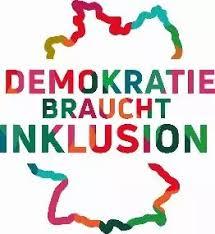 Logo Demokratie braucht Inklusion