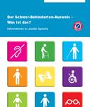 Bild von der Titelseite der Broschüre: Der Schwer-Behinderten-Ausweis - Was ist das