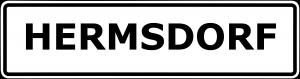 Schild Hermsdorf